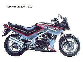 Kawasaki GPZ 500S 1991