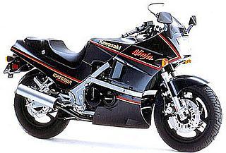 Kawasaki GPZ 600R 1986