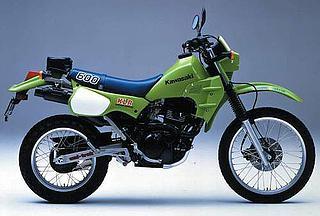 Kawasaki KLR 600 1984