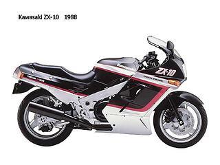 Kawasaki ZX 10 Tomcat 1988-1990