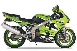Kawasaki ZX-6R 636 2002