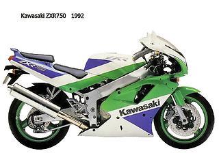 Kawasaki ZXR 750 1992