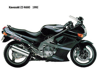 Kawasaki ZZR 600-1992