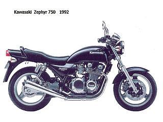Kawasaki Zephyr 750-1992