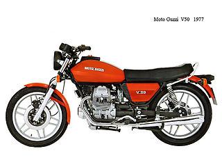 Moto Guzzi V50-1977