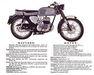 Ossa 160 T 1964