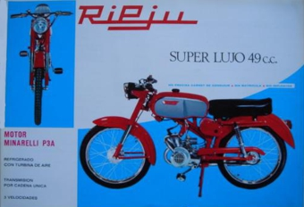 Rieju Super Lujo Folleto