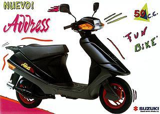 Suzuki Address 50 1992 - 1995