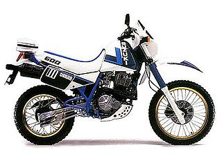 Suzuki DR600S Dejebel 1986 a 1989