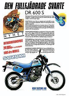 Suzuki DR 600S 1985