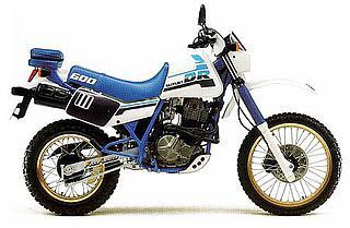 Suzuki DR 600S 1987 Djebel