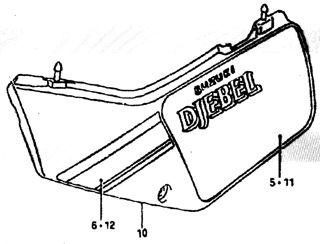 Suzuki DR600S Djebel Tapa lat