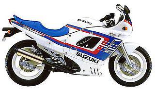 Suzuki GSX 600F 1991