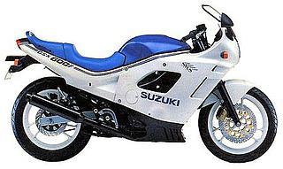 Suzuki GSX 600F-1988