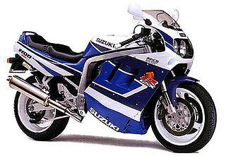Suzuki GSX-R1100 1991