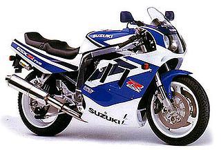 Suzuki GSX-R750 1991