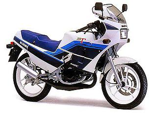 Suzuki RG125 Gamma 1987
