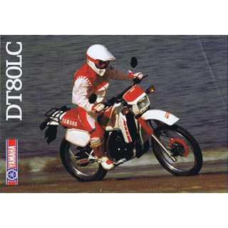 Yamaha DT80LC . Año1987.