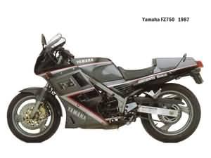 Yamaha FZ 750 1987-1994