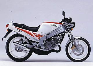 Yamaha TZR 125 Naked 1989