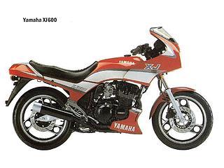 Yamaha XJ600 1984