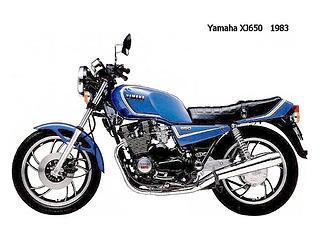Yamaha XJ650 1980-1985