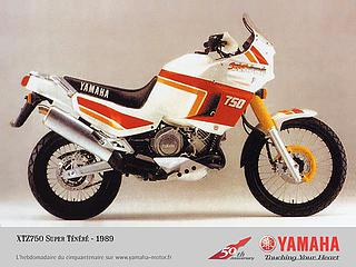 Yamaha XTZ 750 Super Ténéré 1989