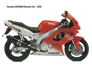 Yamaha YZF 600R Thunder Cat 1996