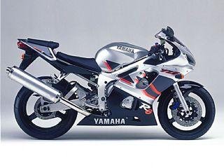 Nº 7 - (Ref.Yamaha 5EB-2839H-10-00 EMBLEM, COVER) YZF R6 1999